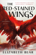 The Red-Stained Wings - Elizabeth Bear - Book Cover