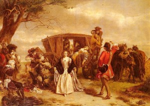 William Powell Frith Claude Duval