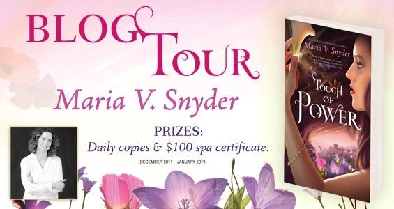 Maria V Snyder Blog Tour