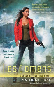 Lies and Omens by Lyn Benedict