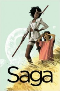 Saga Volume 3 by Brian K. Vaughan and Fiona Staples