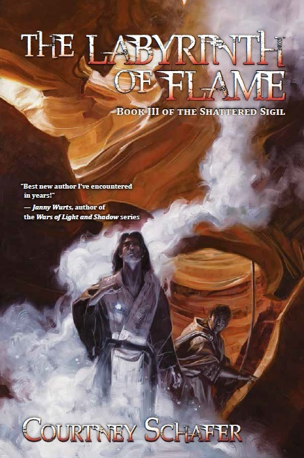 The Labyrinth of Flame by Courtney Schafer