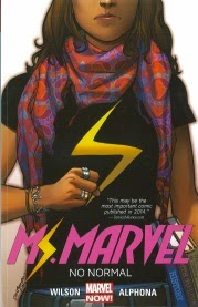 Cover of Ms Marvel Volume One