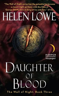 Daughter of Blood US Cover
