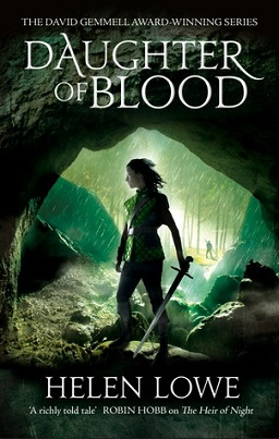 Daughter of Blood UK Cover