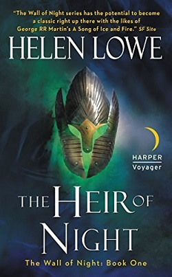 The Heir of Night US Cover