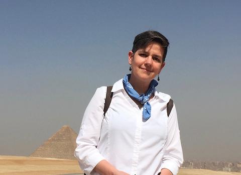 Megan Whalen Turner in Egypt