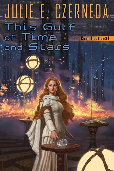 This Gulf of Time and Stars by Julie E. Czerneda, Cover Art by Matthew Stawicki