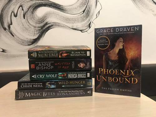 Romantic Fantasy Books in Giveaway