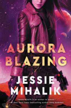 Aurora Blazing Cover
