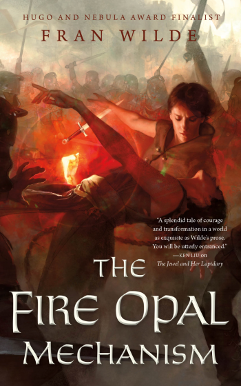 The Fire Opal Mechanism Cover