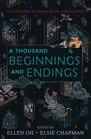 A Thousand Beginnings and Endings Anthology Cover