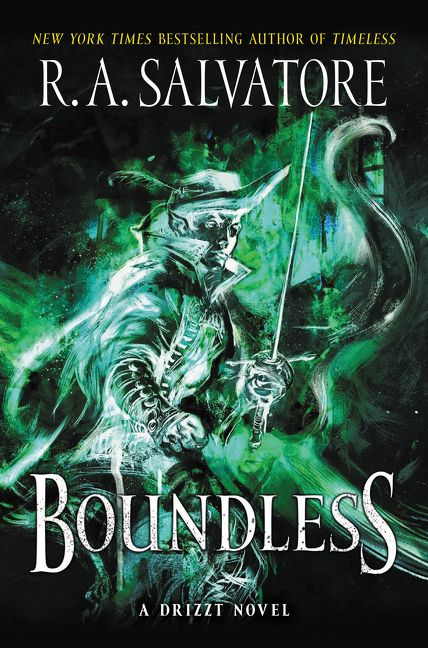 Boundless - R. A. Salvatore - Book Cover