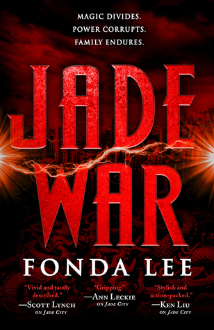 Jade War by Fonda Lee Cover
