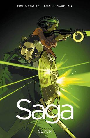 Saga, Volume 7 Cover