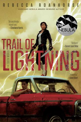 Trail of Lightning by Rebecca Roanhorse - Book Cover