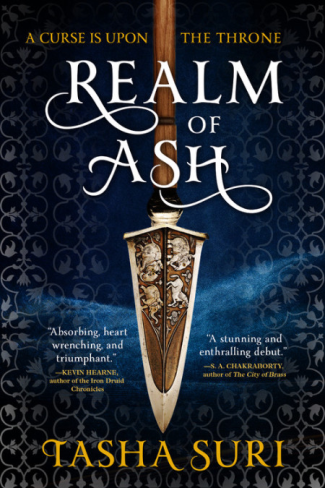 Realm of Ash by Tasha Suri - Book Cover
