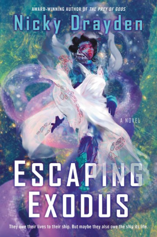 Escaping Exodus by Nicky Drayden - Book Cover