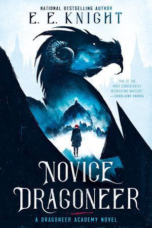 Novice Dragoneer by E. E. Knight - Book Cover