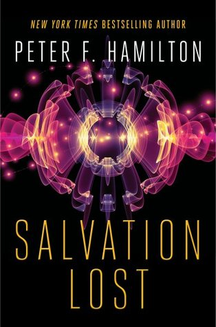 Salvation Lost by Peter F. Hamilton - Book Cover