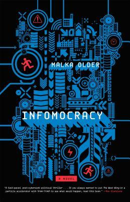Infomocracy by Malka Older - Book Cover