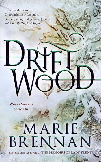 Driftwood by Marie Brennan - Book Cover