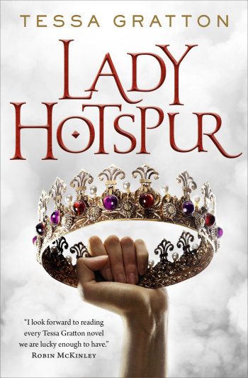 Lady Hotspur by Tessa Gratton - Book Cover