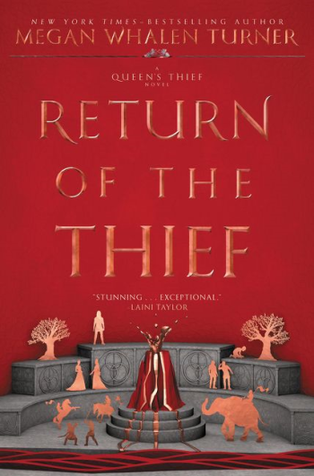 Return of the Thief by Megan Whalen Turner - Book Cover