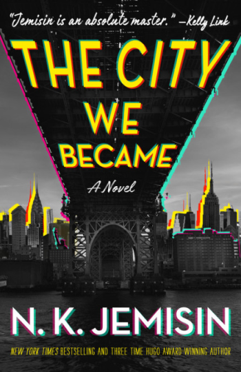 The City We Became by N. K. Jemisin - Book Cover