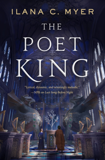 The Poet King by Ilana C. Myer - Book Cover