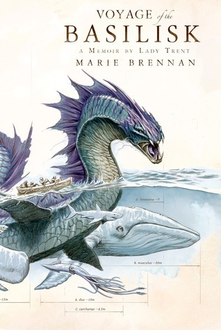 Voyage of the Basilisk by Marie Brennan - Book Cover