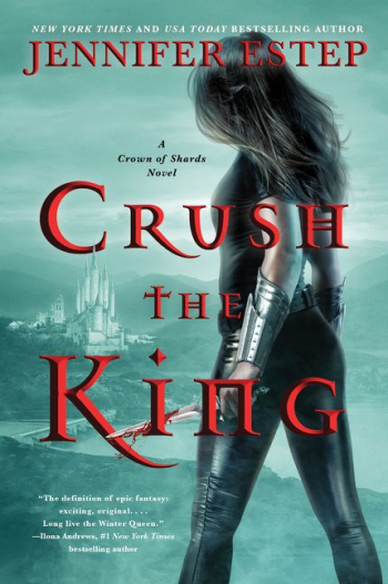 Crush the King by Jennifer Estep - Book Cover