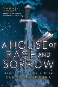 A House of Rage and Sorrow by Sangu Mandanna Book Cover