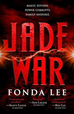 Jade War by Fonda Lee Book Cover