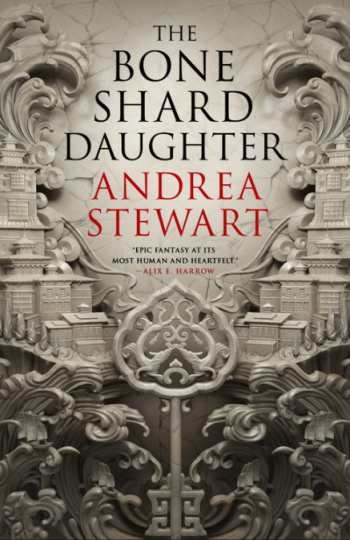 The Bone Shard Daughter by Andrea Stewart Book Cover