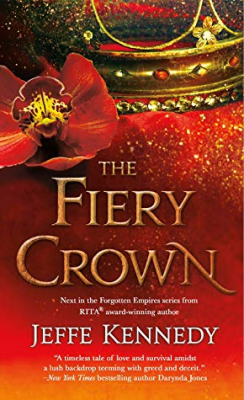 The Fiery Crown by Jeffe Kennedy Book Cover