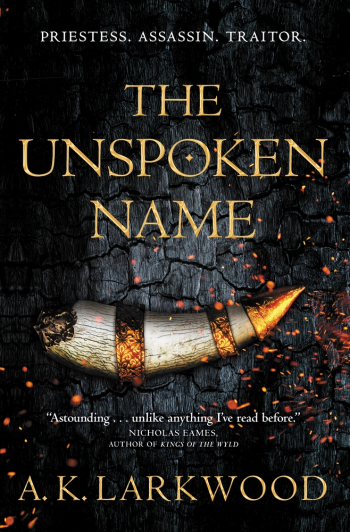 The Unspoken Name by A. K. Larkwood Book Cover