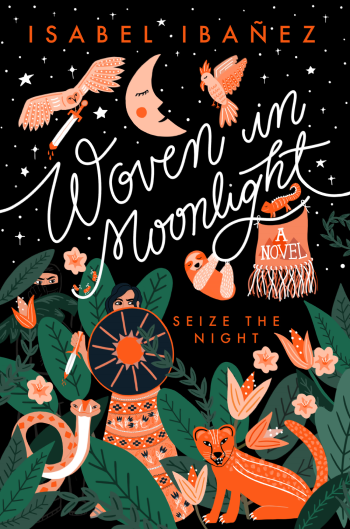 Woven in Moonlight by Isabel Ibañez Book Cover