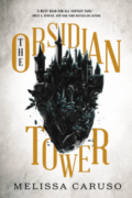 The Obsidian Tower by Melissa Caruso - Cover Image