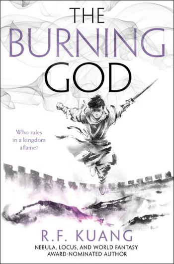 The Burning God by R. F. Kuang - Book Cover