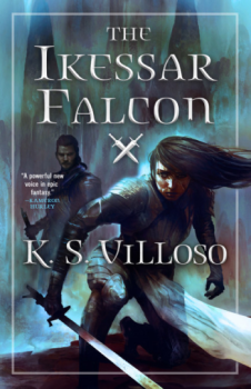 The Ikessar Falcon by K. S. Villoso - Book Cover
