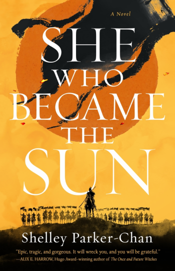 She Who Became the Sun by Shelley Parker-Chan - Cover Image