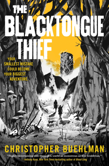 The Blacktongue Thief by Christopher Buehlman - Cover Image