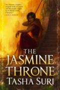 The Jasmine Throne by Tasha Suri - Cover Image