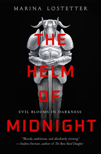 The Helm of Midnight by Marina J. Lostetter - Book Cover