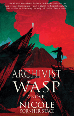 Archivist Wasp by Nicole Kornher-Stace - Book Cover
