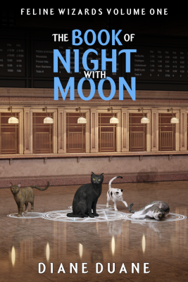 The Book of Night with Moon by Diane Duane - Book Cover