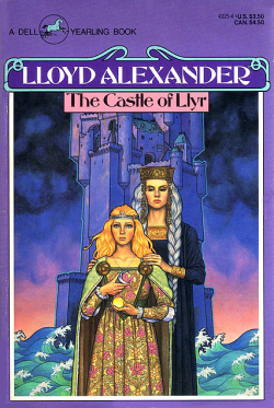 The Castle of LLyr by Lloyd Alexander - Book Cover