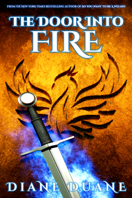 The Door Into Fire by Diane Duane - Book Cover