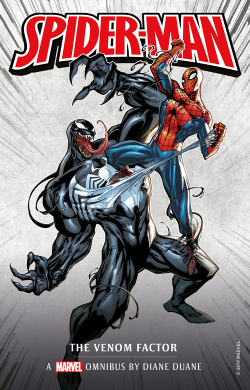 Spider-Man: The Venom Factor by Diane Duane - Book Cover
